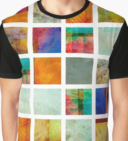 Color Block Collage - original abstract art Graphic T-Shirt