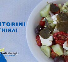 Greek Salad by kostastrovas