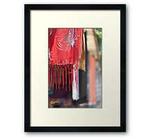 Pashmina Framed Print