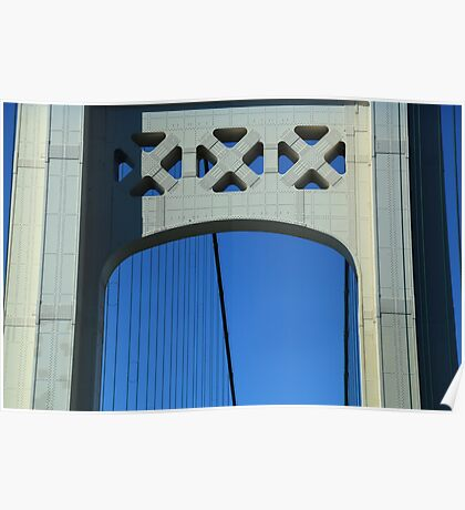 Mackinac Bridge Detail 10 Poster
