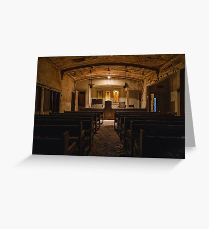 Funeral Home Chapel Greeting Card