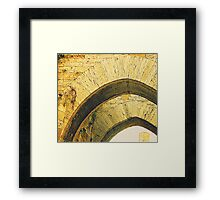 Under A Tuscan Arch Framed Print