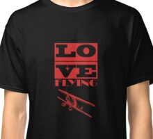 Love Flying Pilot T-Shirt Classic T-Shirt