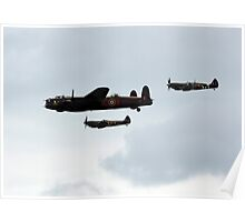 Six Merlins Poster