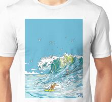 Surfing in Tofino Unisex T-Shirt