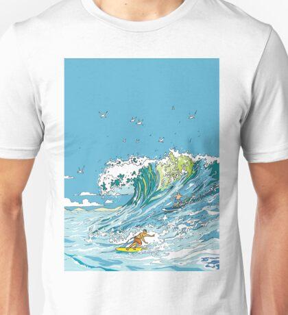 Surfing in Tofino Unisex T-Shirt