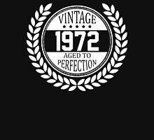 Vintage 1972 Aged To Perfection T-Shirt
