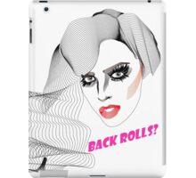 Alyssa Edwards - Back rolls iPad Case/Skin