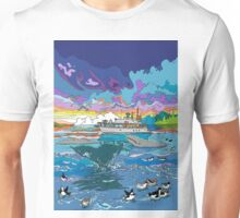 Whalewatching at dusk Unisex T-Shirt