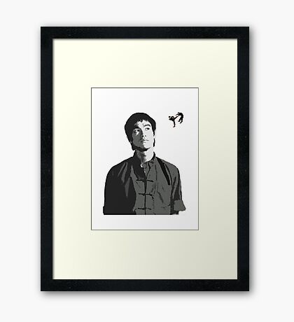 Fighting Thoughts Framed Print