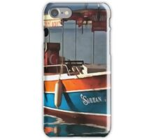 Sultan Taxi Boat Marmaris iPhone Case/Skin
