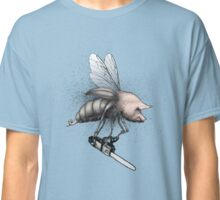 Pig-Wasp with chainsaw Classic T-Shirt