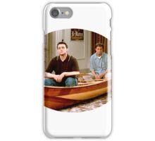 Chandler Bing Joey Tribbiani Friends iPhone Case/Skin