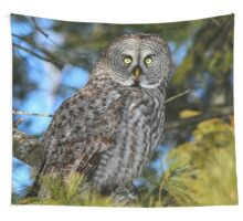 Out of the shadows Wall Tapestry