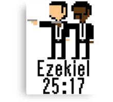 Ezekiel 25:17 Canvas Print