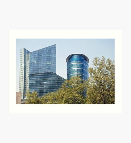 Offices in Brussels - Belgium Art Print