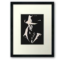 Valentine Noir Framed Print