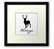 HP-Always Framed Print