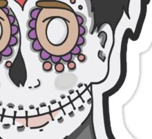 day of the dead!phil Sticker