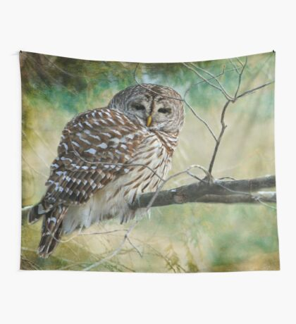 Listen a hundred times. Ponder a thousand times. Speak once. Wall Tapestry