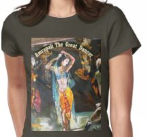 Amrapali The Great Dancer-Buddha Period in Bharat  Womens Fitted T-Shirt