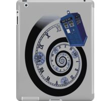The Twelfth Doctor - time spiral (no white outline) iPad Case/Skin