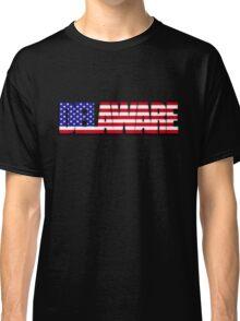 Delaware United States of America Flag Classic T-Shirt