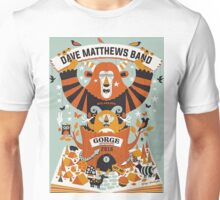 Dave Matthews Band, The Gorge Amphitheatre George WA Unisex T-Shirt