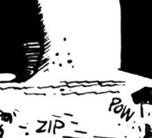 Krazy Kat Pulp Fiction Sticker