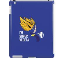 I'm Super Vegeta iPad Case/Skin