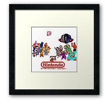 NES Classic Framed Print