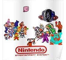NES Classic Poster