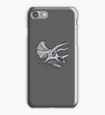 Pixkull - Triceratops  iPhone Case/Skin