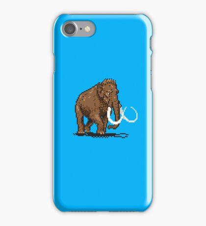 Prehistoric Pixels - Mammoth iPhone Case/Skin