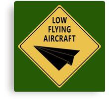 Paper Airplane 27 Canvas Print
