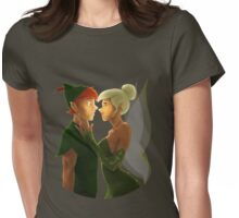 Happy Birthday, Peter Pan Womens Fitted T-Shirt