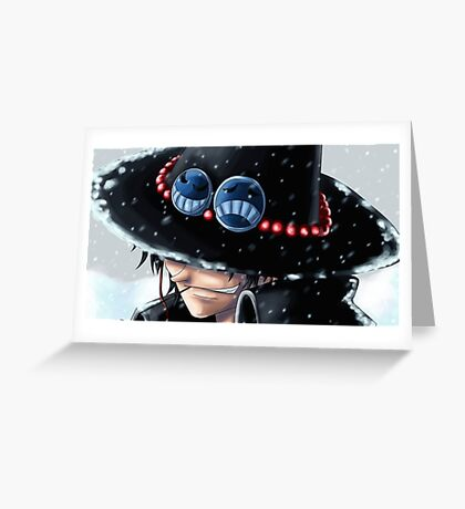 One piece- Ace Greeting Card