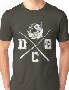 Dead Center Gaming - White Unisex T-Shirt