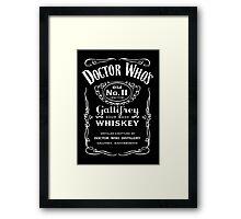 Jack Daniel's Doctor Who Framed Print