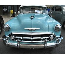 """""""'53 Chevy Bel Air""""... prints and products Photographic Print"""