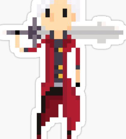 Pixel Dante Sticker