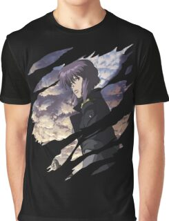 Motoko Kusanagi Anime Manga Shirt Graphic T-Shirt