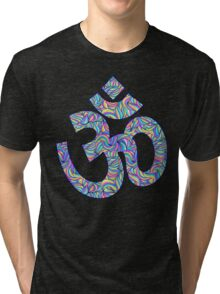 Om symbol Tri-blend T-Shirt