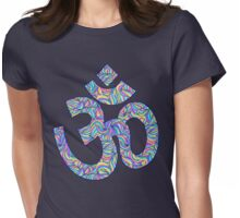 Om symbol Womens Fitted T-Shirt