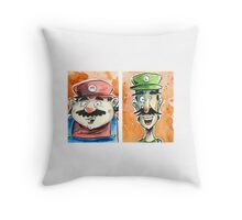 The brothers! Throw Pillow
