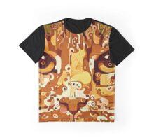 Hello Kitty Abstract Art Graphic T-Shirt
