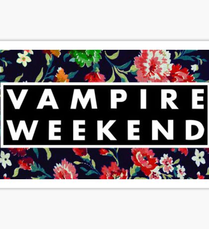 VampireWeekend Sticker