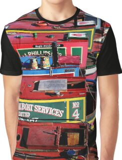 Canal Colours Graphic T-Shirt