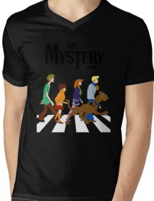 Scooby Doo Abbey Road Mens V-Neck T-Shirt