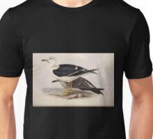 John Gould The Birds of Europe 1837 V1 V5 431 Lesser Black Backed Gull Unisex T-Shirt